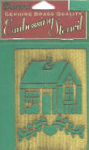 One of our collectible stencils - country home stencil