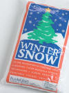 One of our collectibles - Bag of winter snow